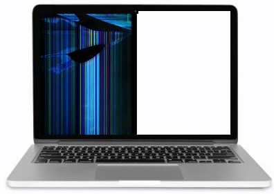Broken MacBook Screen Repair Dallas